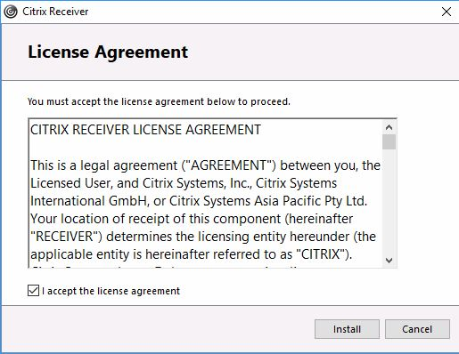 another license agreement